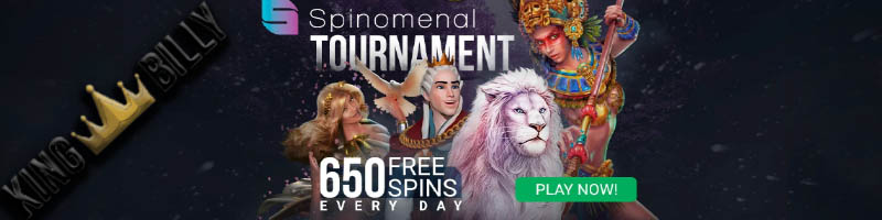 King Billy Casino free spins, bonus codes and other promotions