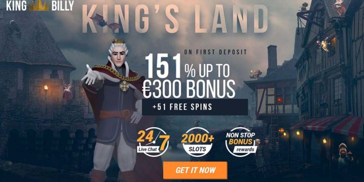 review about king billy casino