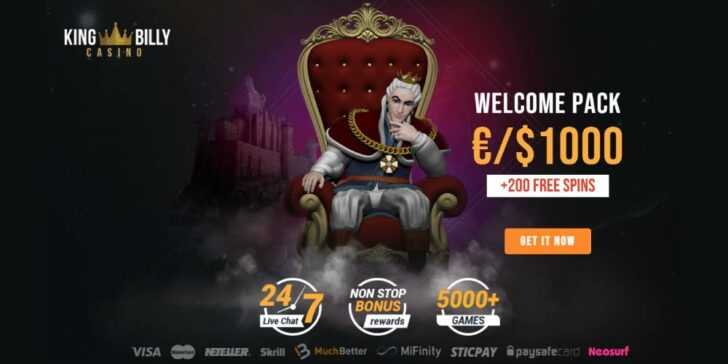 review about kingbilly casino