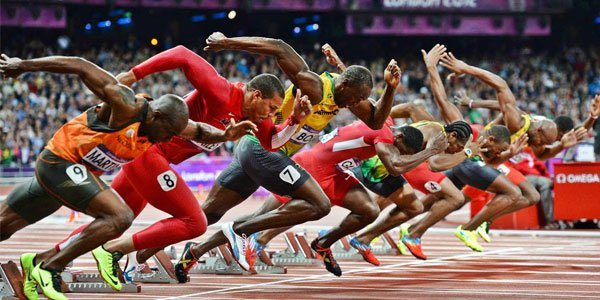 Bet on the 100m dash in London