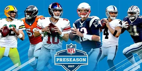NFL preseason betting odds