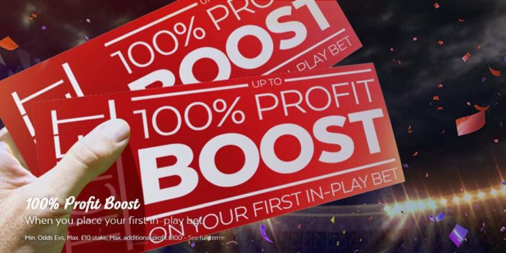 Up to 100% Profit Boost