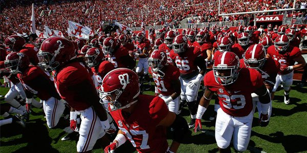 2017 NCAAF betting odds