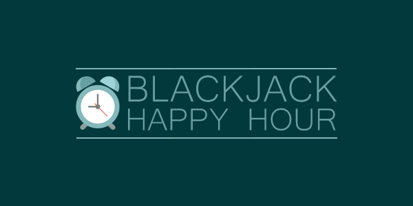 Win Free Blackjack Hands During the Casino Happy Hour at Juicy Stakes