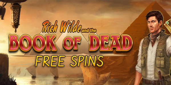 book of dead free spins at Casumo