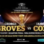 Now's a Great Time to Bet on Groves vs. Cox Online!