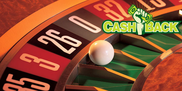 Cash back on losing casino