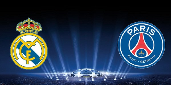 Real Madrid vs PSG Odds from bet365