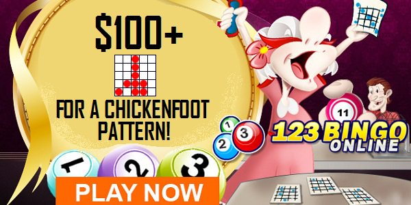 123Bingo Online chicken foot games