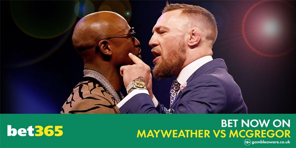 Bet365 is Offering Some Great Odds on the May-Mac Fight Next Week!
