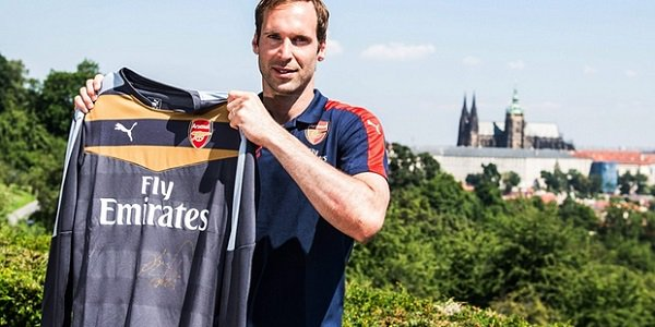 Petr Cech Checks out of Chelsea FC