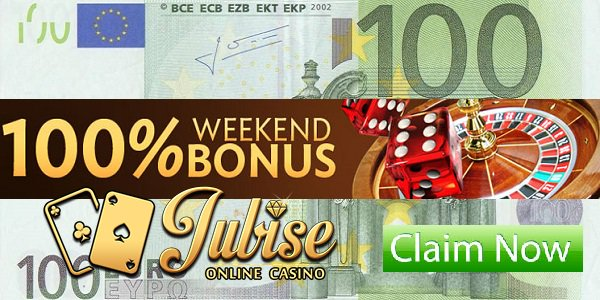Jubise Casino Weekend Bonus promo