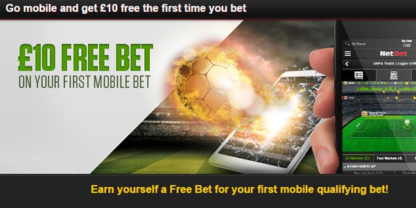 Earn a Free Sports Bet On Your Phone With NetBet Sportsbook!