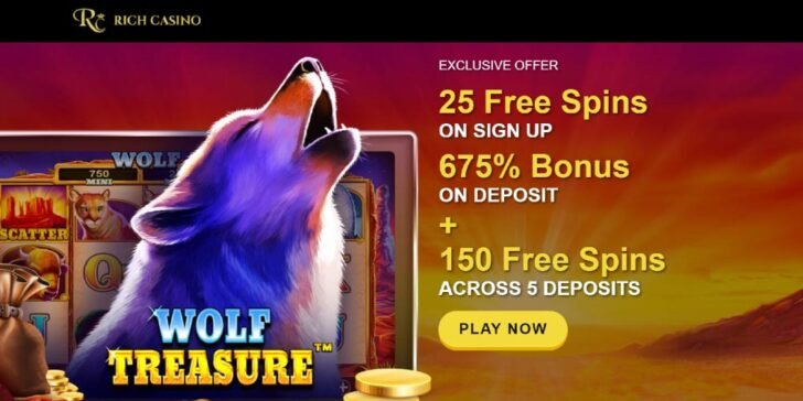 Win up to $6750 with this Rich Casino Welcome Bonus through GamingZion, the best online gambling directory