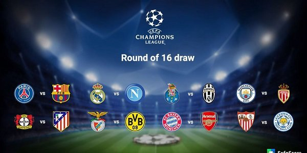 Europa League Round of 16 Draw