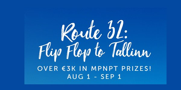 32Red Poker Promo Offers You the Chance to Win a Trip to Tallinn!