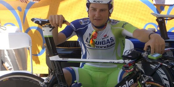 Ted King, pro cyclist, Solvang
