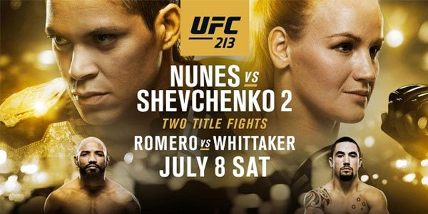 Ultimate UFC 213 Betting Guide: Main and Co-Main Event