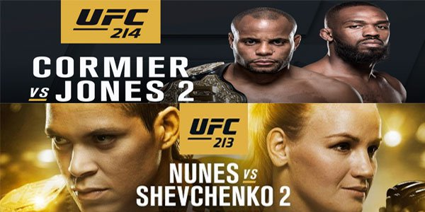UFC 213 vs. UFC 214: Which is the Better Card?