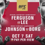 Want to Know the Best Place to Bet on UFC 216 Online in the US?