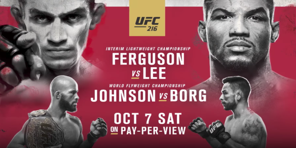Bet on UFC 216 online in the US
