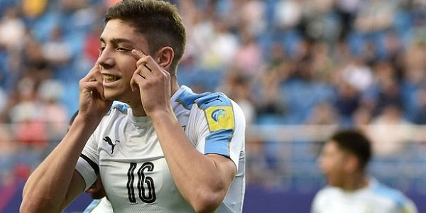 Uruguay Football Youngster