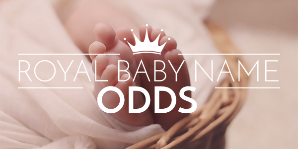Best royal baby name odds