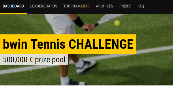 Tennis Betting Bonus Bwin