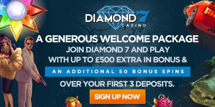 About Diamond 7 Casino Welcome Bonus
