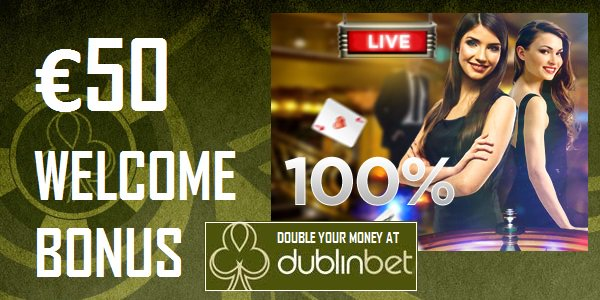 dublinbet double welcome bonus