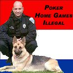 Dutch police crack down on illegal poker games