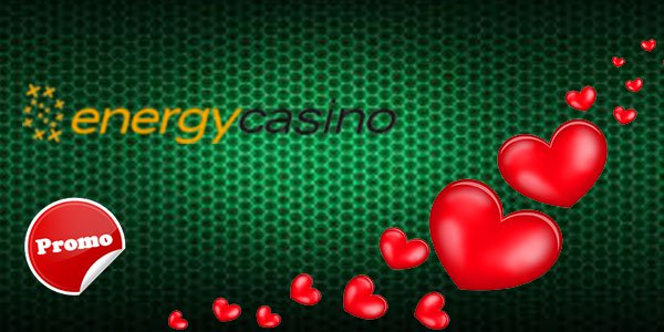 Energy Casino offers great 30 free spins in 'Love is in the Air' promo