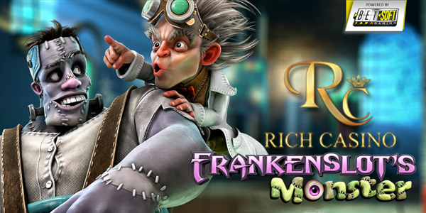 Rich Casino Frankenslot's Monster promo