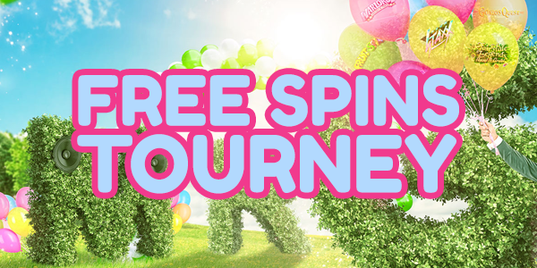 free spins tourney