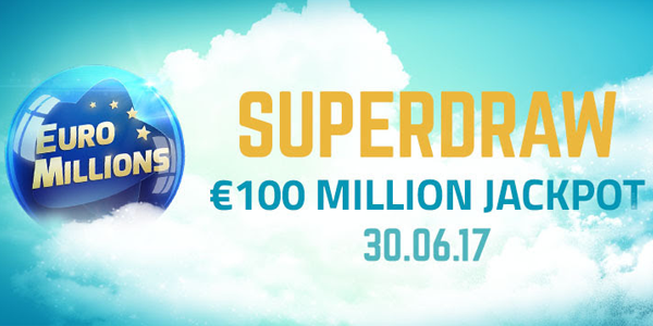 Online Tickets for the Euromillions superdraw