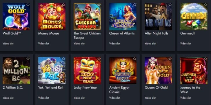 These are only a few examples out of the total amount of more than 450 online gaming software that you can find here!