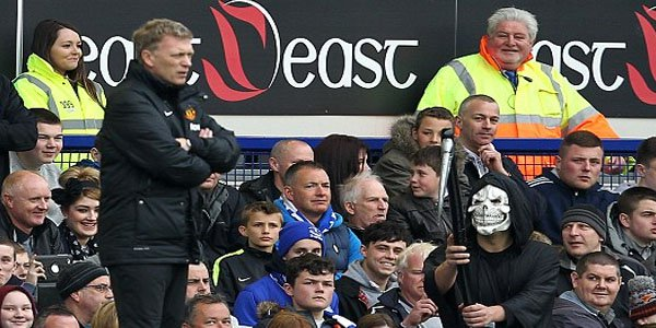 Fan Dressed As Grim Reaper Appears As Omen For Manchester United Manager