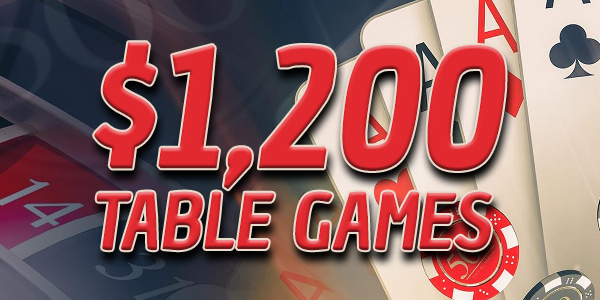table games cash giveaway