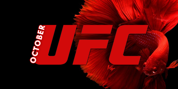 Bet on UFC fights in October