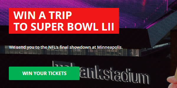 Intertops Sportsbook Super Bowl Giveaway