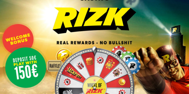 the latest review about Rizk Casino, Rizk Casino ratings and details