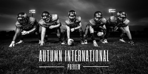 Time to Bet on Autumn International