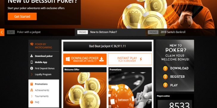 About Betsson Poker A Review Of All The Info That You Need