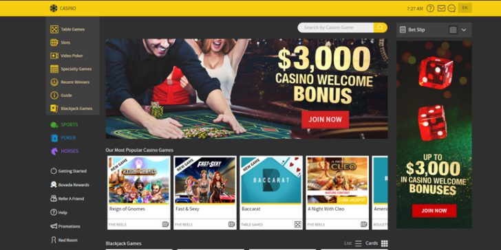 review about bovada casino