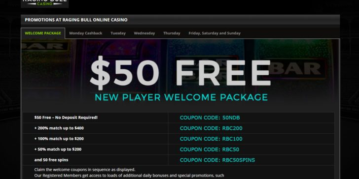 coupon casino codes