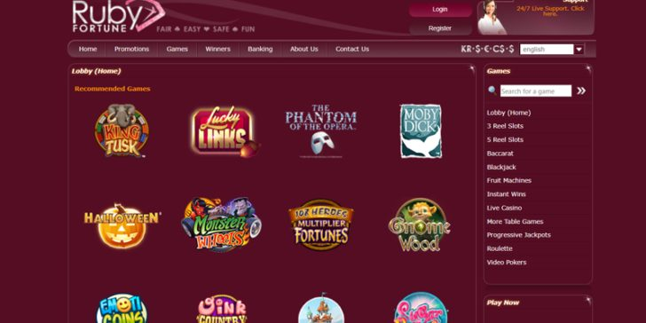 Review About Ruby Fortune Casino Gamingzion Gamingzion