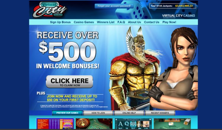 review about virtual city casino