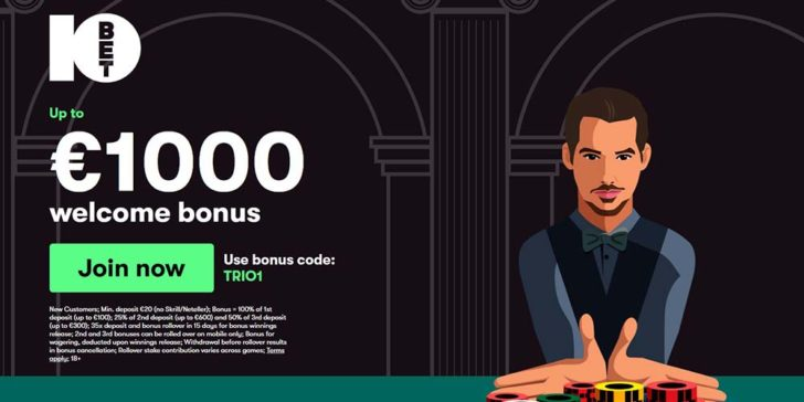 review about 10bet casino