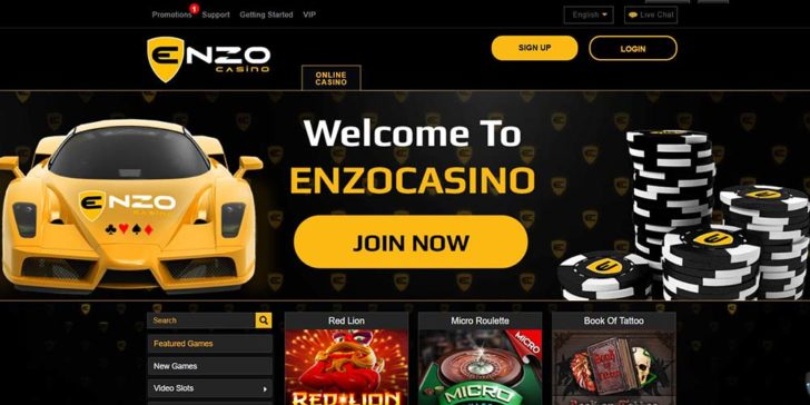 Review About Enzo Casino Gamingzion Gamingzion