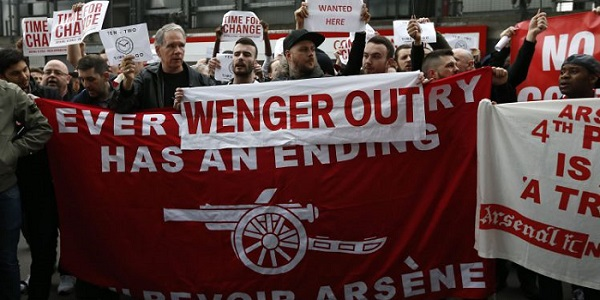 Wenger Out Arsenal Fans
